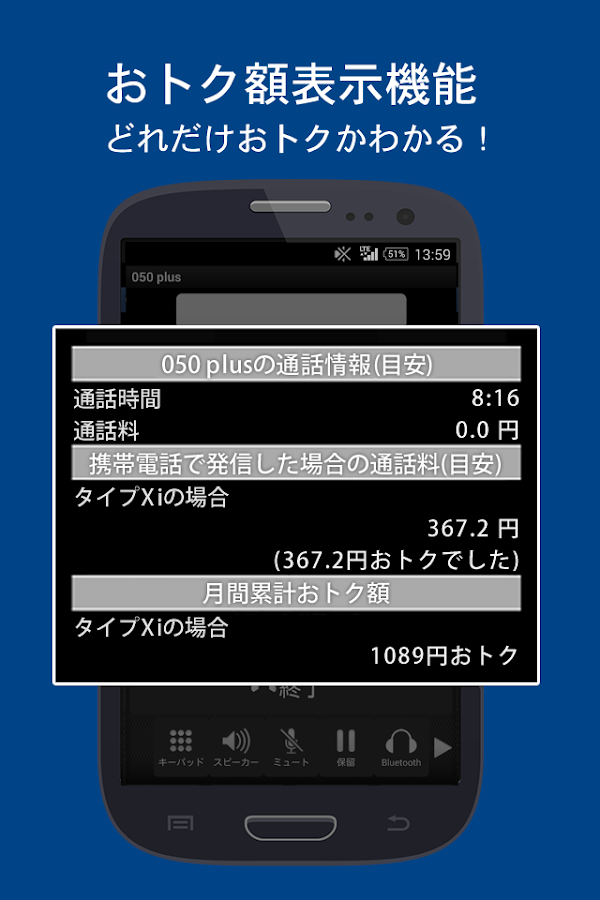050 plus - 050番号で携帯・固定への通話がおトク