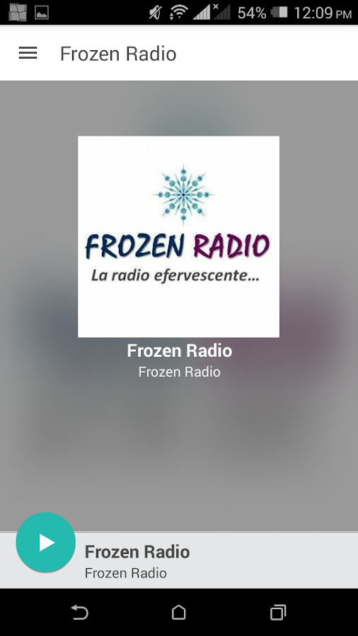 Frozen Radio- screenshot