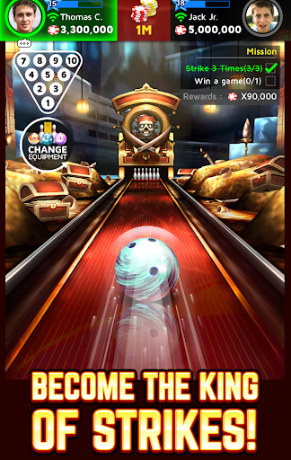Bowling King app (apk) free download for Android/PC/Windows screenshot