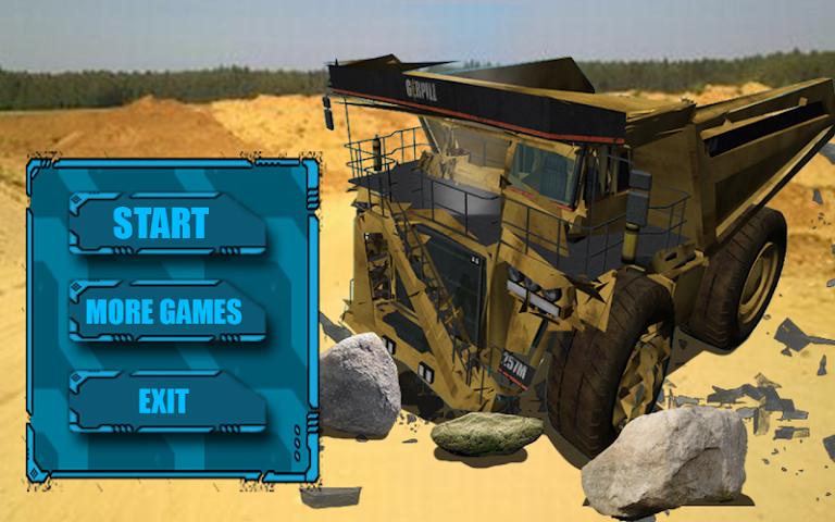 android BELAZ Truck Crash Test Screenshot 0