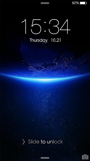 iDO Lock Screen theme for IOS