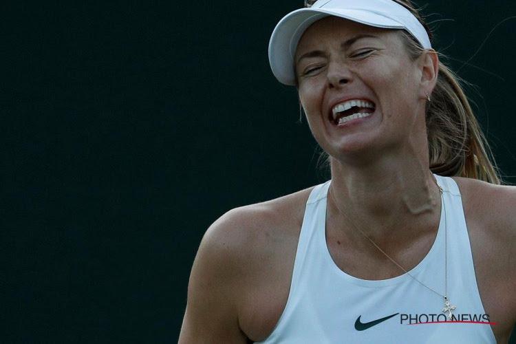 Ellende duurt voort: Sharapova moet forfait geven voor Linz