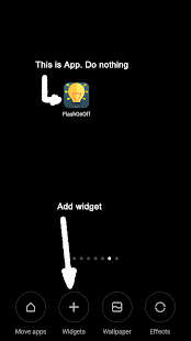 Flash Light OnOff Widget- screenshot thumbnail