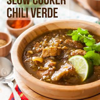 Crock Pot Chili Verde