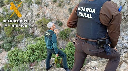 Una mujer es rescatada en helicóptero tras perderse en la sierra de Gádor