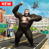 Angry😡Mad King Kong :Rampage Gorilla City Smasher