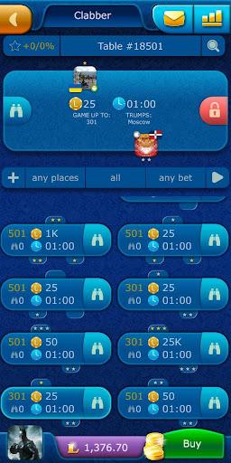 Clabber LiveGames - free online card game screenshots 3