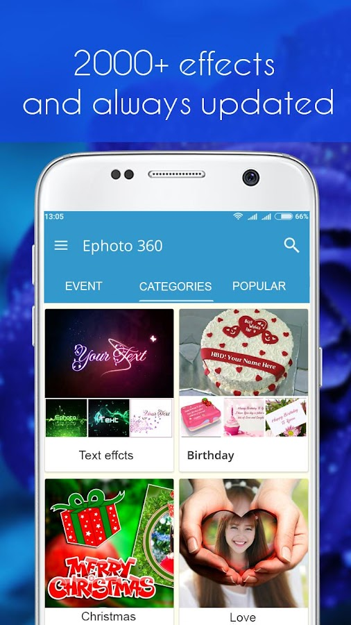 Ephoto 360 - Photo Effects- screenshot