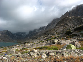 Photo: Campsite in Titcomb
