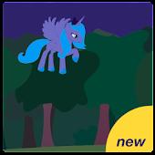 Little fluffy pony