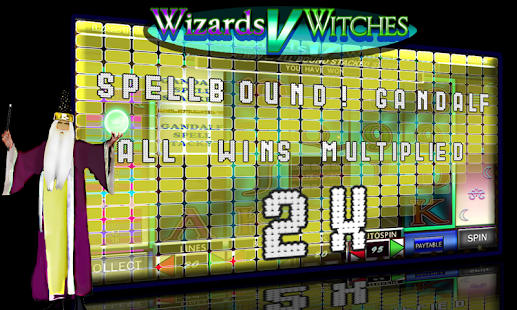 Wizards V Witches video slots- screenshot thumbnail