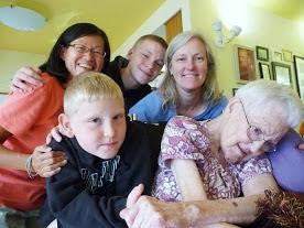 Photo: Lynne's family