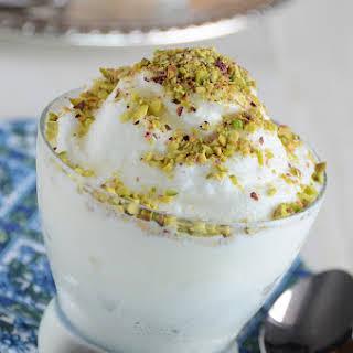 Syrian Ice Cream (Éma'a).