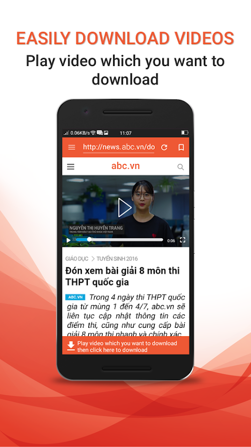 how to download video from app
