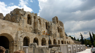 Photo: Herod Atticus Odeon, from the outside