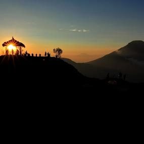 Sunrise by Rudy Kurniawan - Landscapes Mountains & Hills