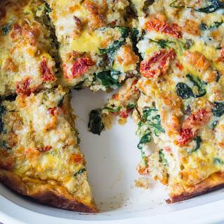 Italian Quinoa Breakfast Casserole