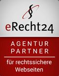 Siegel das Future Infinity eine Partneragentur von eRecht24 ist.