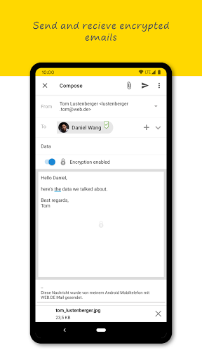 WEB.DE Mail & Cloud  screenshots 3