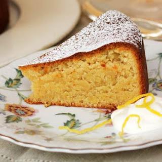 Portuguese Almond Torte | Bolo de Amêndoa.