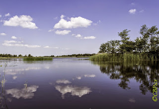 Photo: Landschappen. Watergebieden Foto: Cees Boom