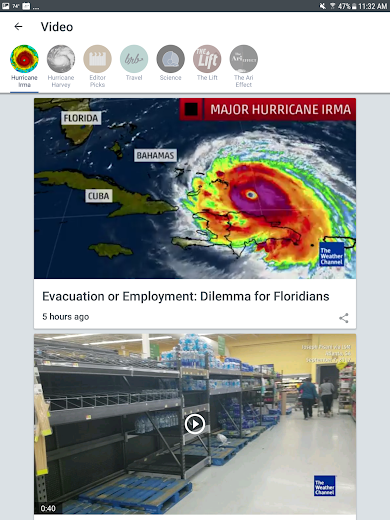 Screenshot 12 for The Weather Channel's Android app'