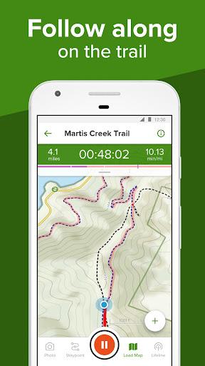 AllTrails: Hiking, Running & Mountain Bike Trails  screenshots 4