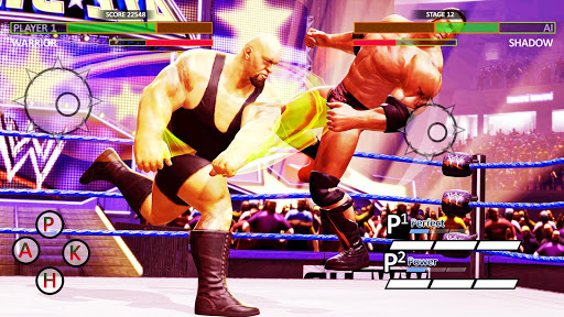 World Tag Team Game 2k19:Wrestling Championship 3D  captures d'écran 2
