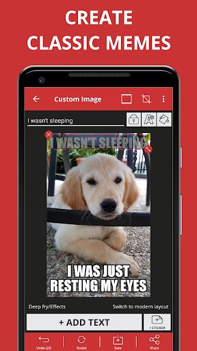 Screenshot for Meme Generator PRO in Hong Kong Play Store