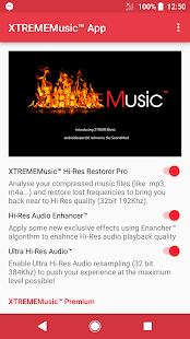 XTREMEMusic™ App - náhled
