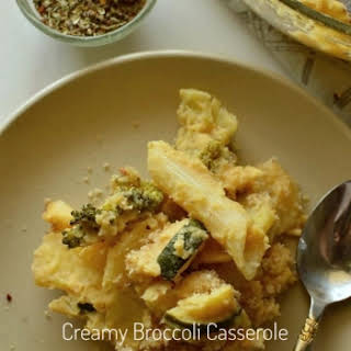 Creamy Broccoli Casserole ( Thanksgiving Special ).