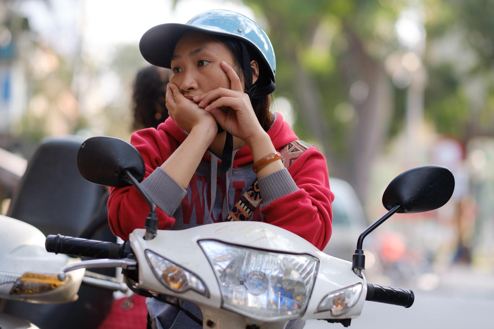 Street Portrait, Hanoi, Vietnam