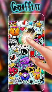 App Graffiti Wall Live Wallpaper APK for Windows Phone