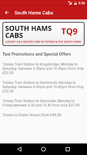South Hams Cabs- screenshot thumbnail