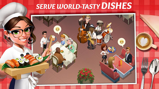 Tasty Town - Restaurant and Cooking Game  screenshots 1