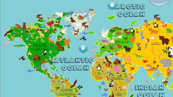 Animal world map 6 12 years android apps on google play install animal world map 6 12 years screenshot thumbnail gumiabroncs Choice Image