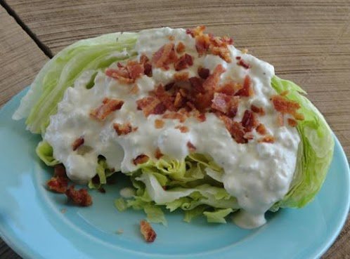 Click Here for Recipe: Best Bleu Cheese Dressing!