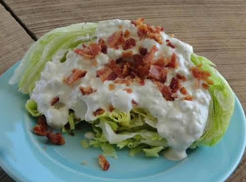 """Click Here for Recipe: Best Bleu Cheese Dressing! """"Better than any of..."""