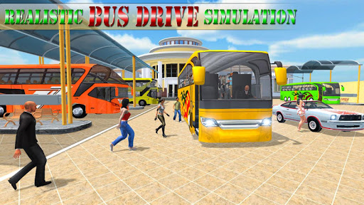 Modern Bus Drive Simulator androidiapk screenshots 1