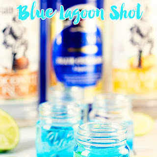 Blue Lagoon Shot