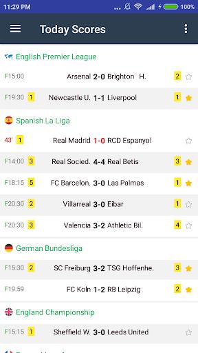Azscore - Mobile Livescore App, Soccer Predictions 2.06 screenshots 2