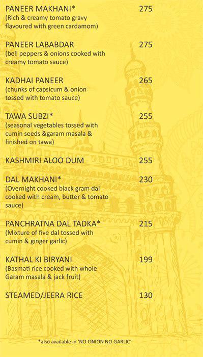 The Masala Trail menu 8