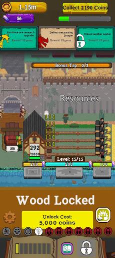Idle Settlement: Resource Management Tycoon screenshot 3