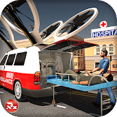 Drone Ambulance Rescue Sim
