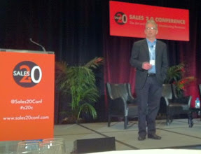 Photo: We really enjoyed this conference! Donal Daly on stage at Sales 2.0, San Francisco, April 3 2012 — at April 3rd 2012