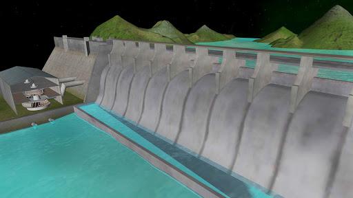 Hydel Power 3D