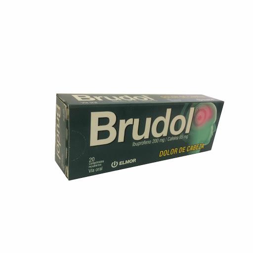 Ibuprofeno + Cafeina Brudol 200/65mg x 20 Comprimidos