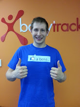 Photo: Sammy, Reload's Personal Exercise Physiologist from www.bodytrack.com.au, proves to us that jocks can be geeks too! ;) Love it Sammy!