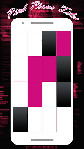 PINK PIANO TILES Screenshot