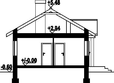 Miłków - Przekrój
